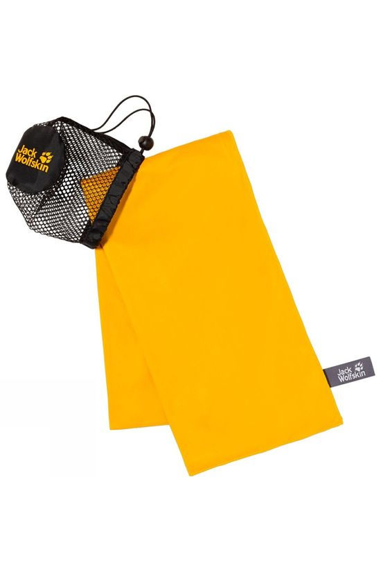 Jack Wolfskin Wolftowel Light XL Burly Yellow
