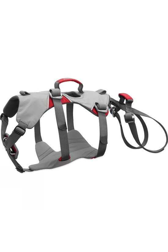 Ruff Wear Doubleback Dog Harness Cloudburst Gray