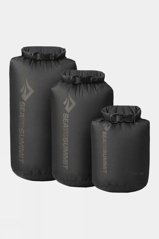 Sea to Summit Lightweight Dry Sack Set Black