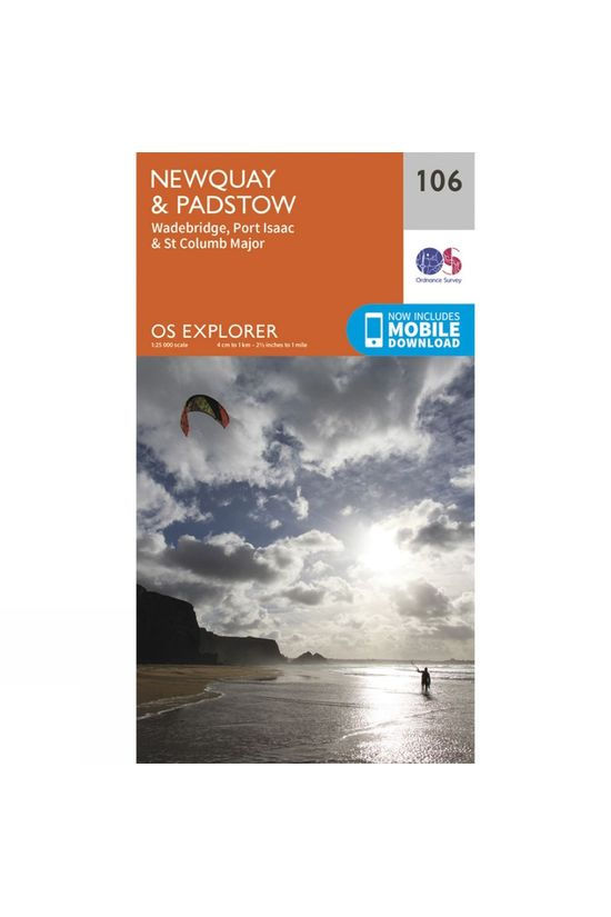 Ordnance Survey Explorer Map 106 Newquay and Padstow V15
