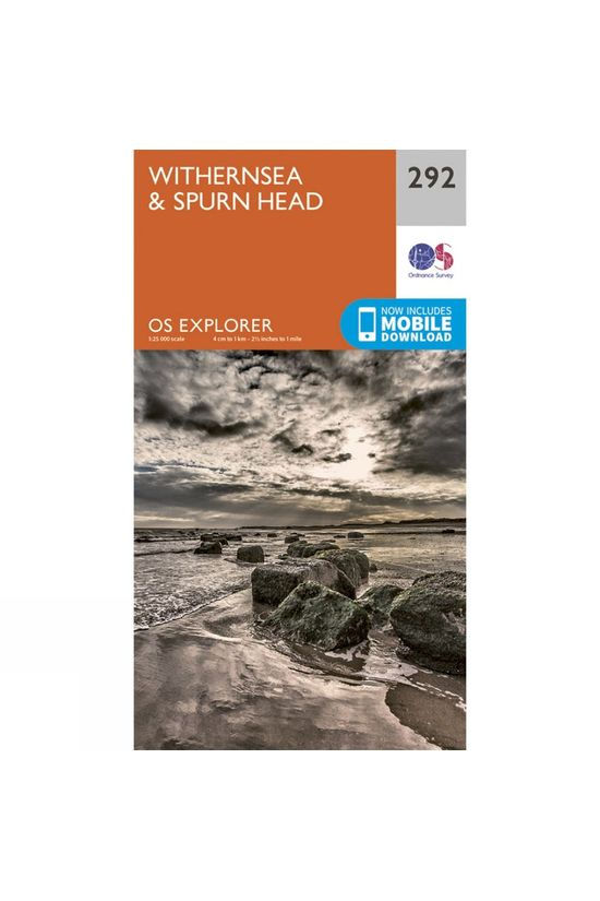 Ordnance Survey Explorer Map 292 Withernsea and Spurn Head V15