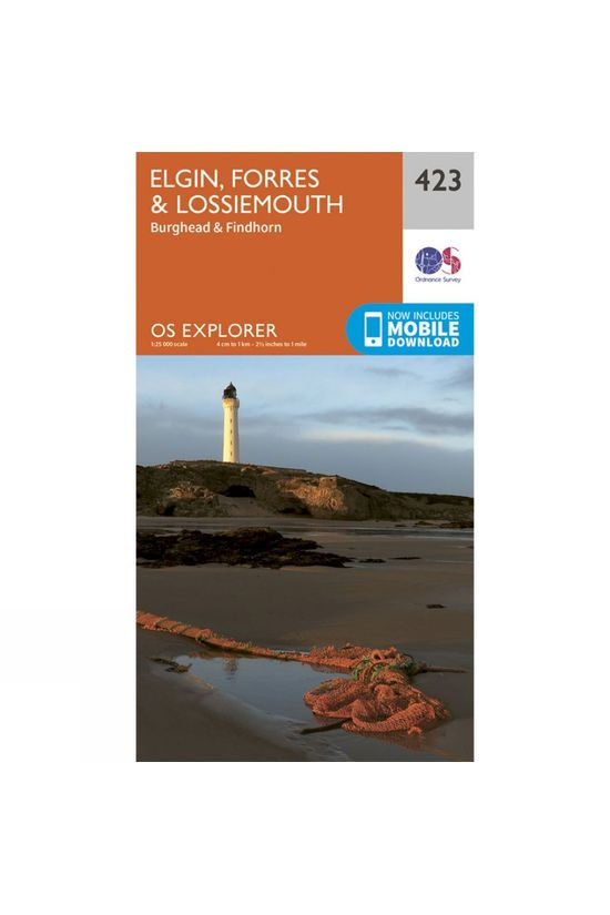 Ordnance Survey Explorer Map 423 Elgin, Forres and Lossiemouth V15