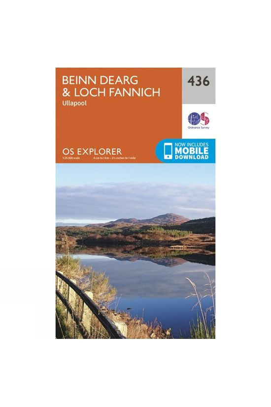 Ordnance Survey Explorer Map 436 Beinn Dearg and Loch Fannich V15