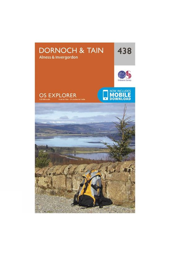 Ordnance Survey Explorer Map 438 Dornoch and Tain V15