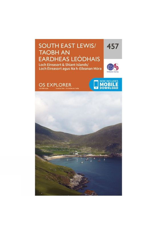 Ordnance Survey Explorer Map 457 South East Lewis V15