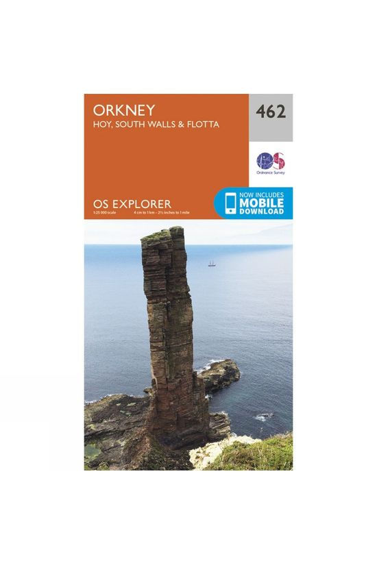 Ordnance Survey Explorer Map 462 Orkney - Hoy, South Walls and Flotta V15
