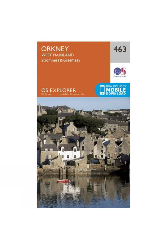 Ordnance Survey Explorer Map 463 Orkney - West Mainland V15