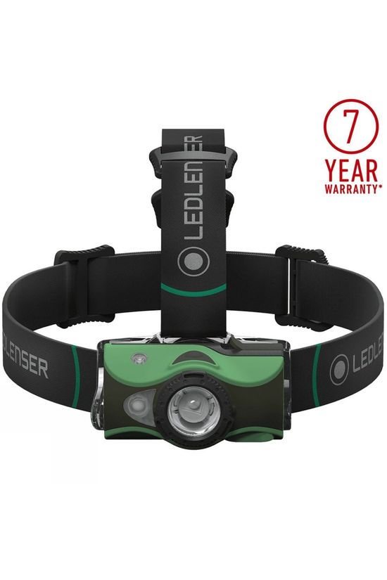 Ledlenser MH8 600 Lumen Headtorch Green
