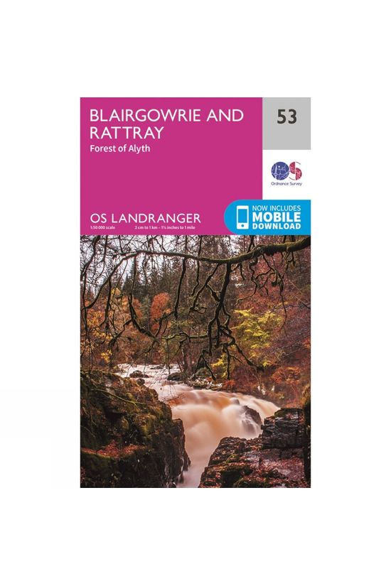 Ordnance Survey Landranger Map 53 Blairgowrie and Rattray V16