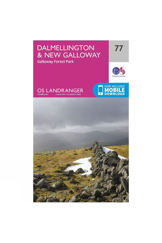 Ordnance Survey Landranger Map 77 Dalmellington and New Galloway V16