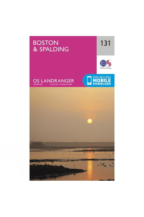 Ordnance Survey Landranger Map 131 Boston and Spalding V16