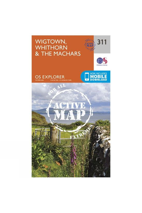 Ordnance Survey Active Explorer Map 311 Wigtown, Whithorn and The Machars V15