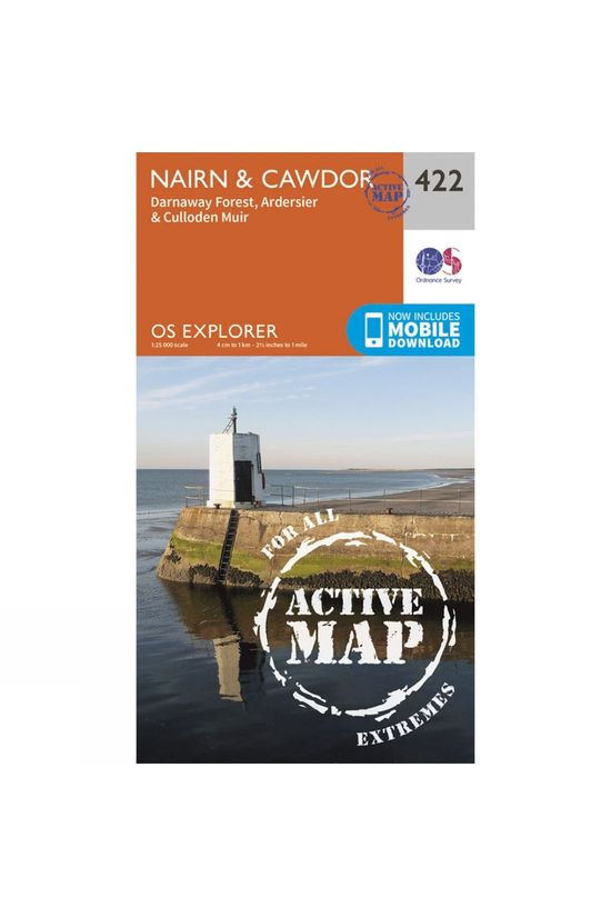 Ordnance Survey Active Explorer Map 422 Nairn and Cawdor V15