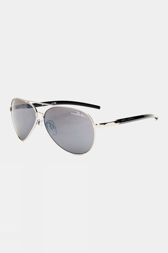 Bloc Hurricane Sunglasses Silver/Silver Flash