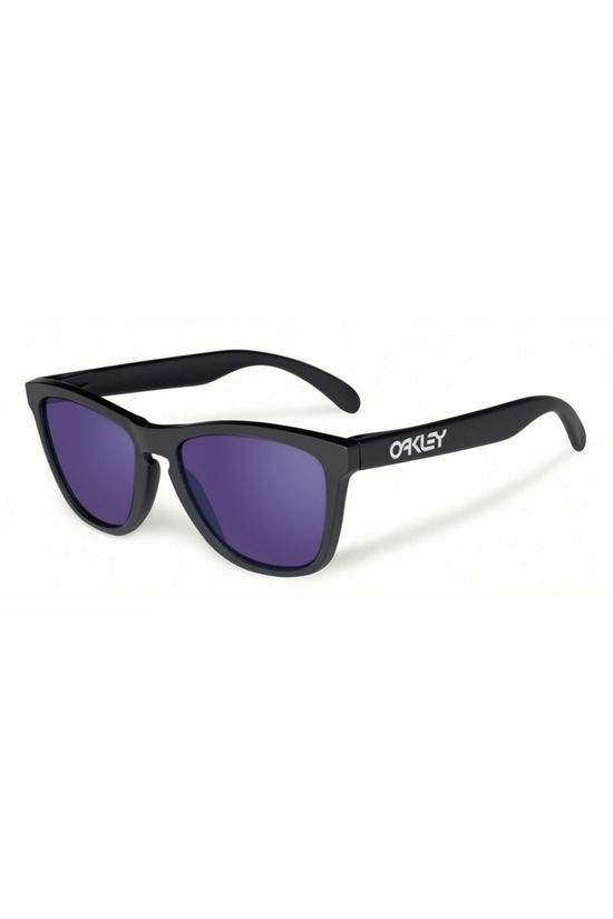 Oakley Frogskins Sunglasses Matt Black /Violet Iridium