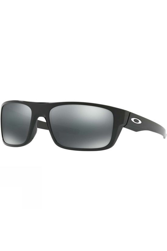 Oakley Drop Point Sunglasses Polished Black/Black Iridium