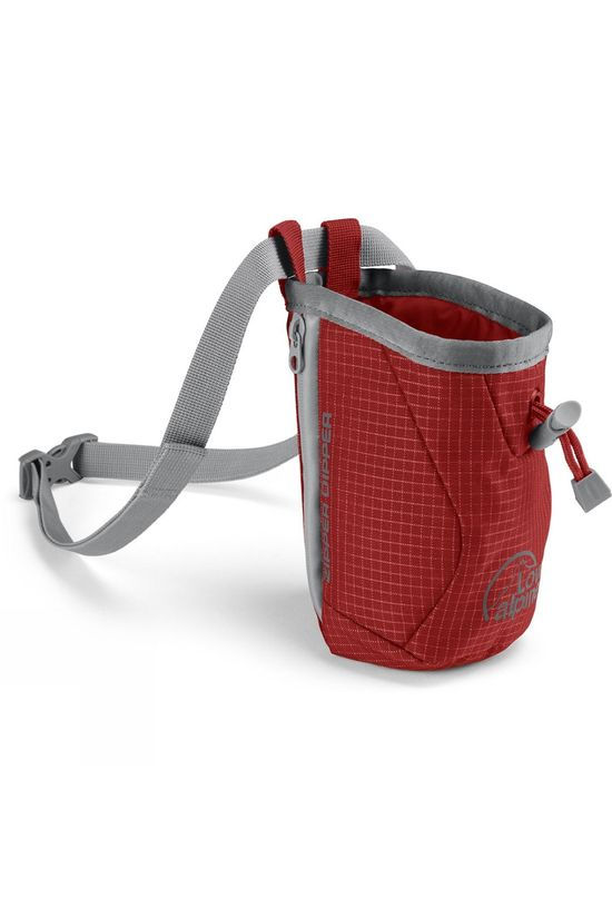 Lowe Alpine Zipper Dipper Chalk Bag Pepper Red/Gunmetal