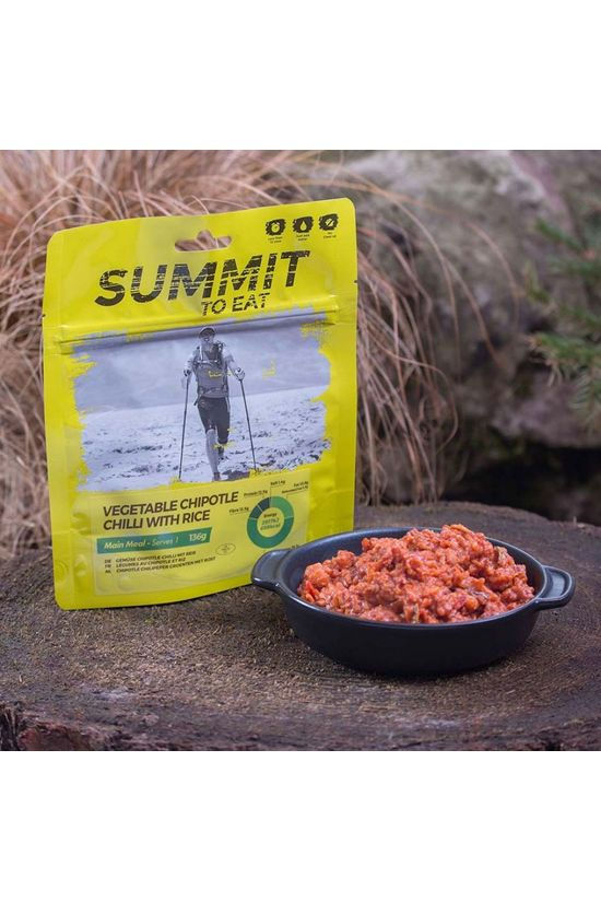 Summit to Eat Vegetable Chipotle Chilli with Rice No Colour