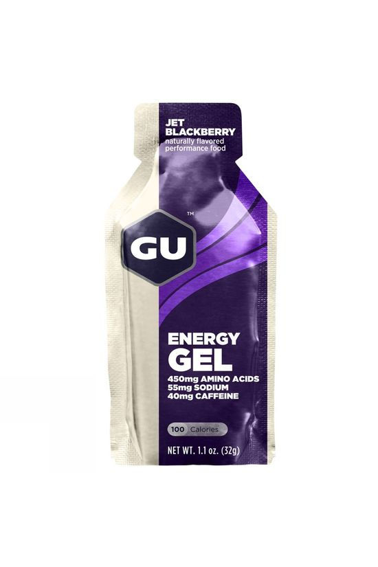 GU GU Energy Gel - Jet Blackberry Jet  Blackberry