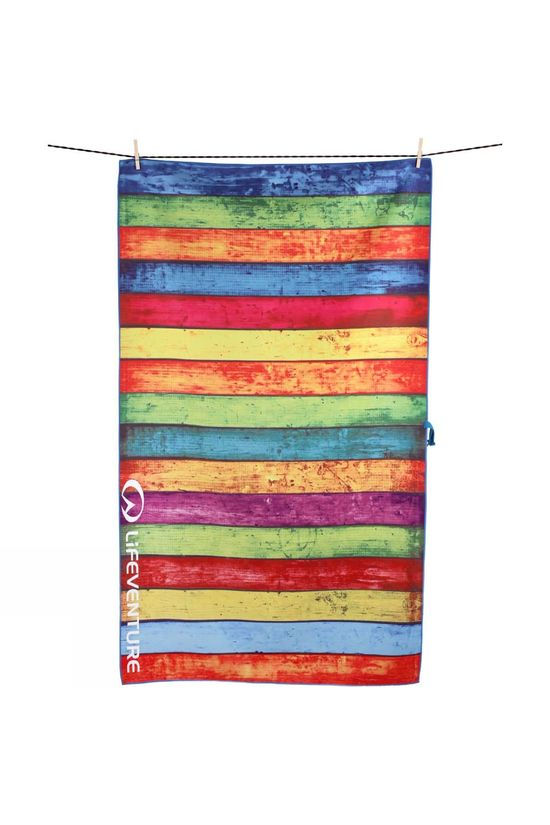 Lifeventure SoftFibre Printed Towel Striped Planks