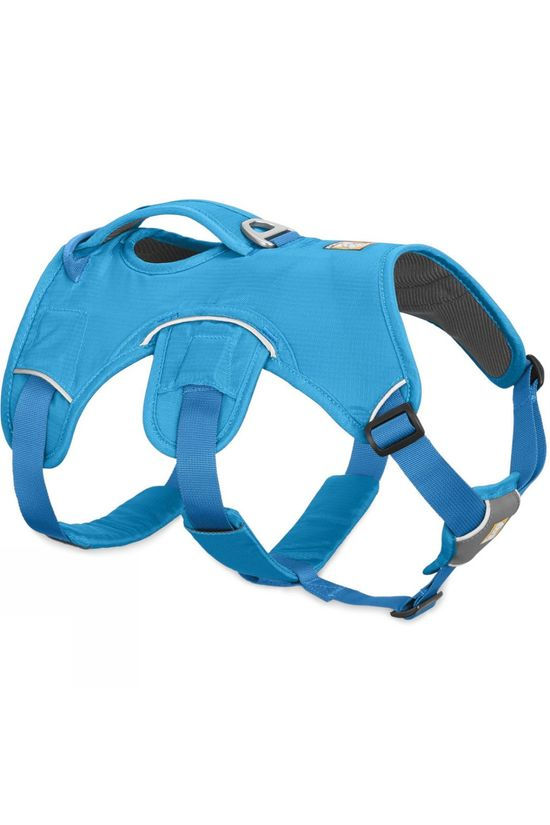 Ruff Wear Web Master Dog  Harness Blue Dusk