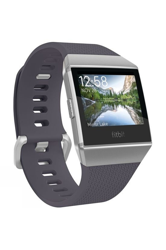 Fitbit Ionic Watch Blue Grey/White Silver