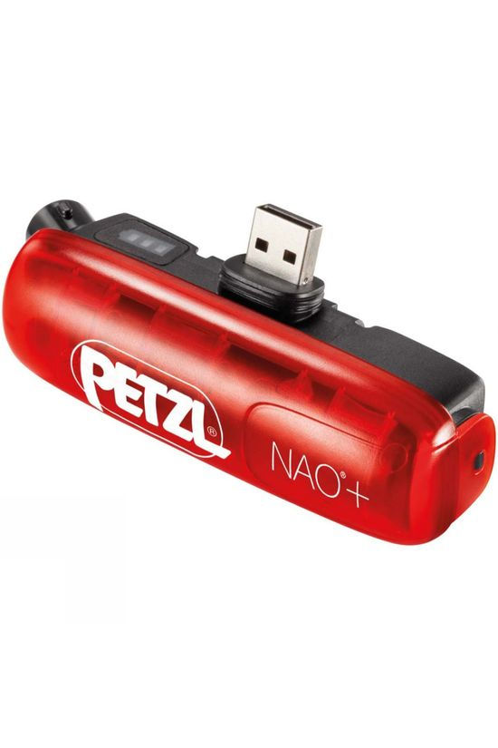 Petzl NAO+ ACCU Rechargeable Battery Red