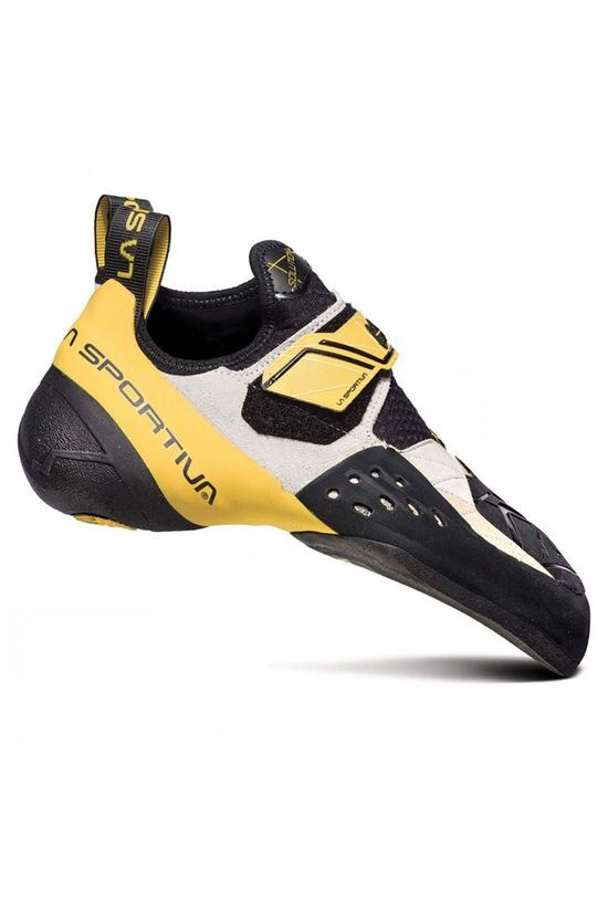 La Sportiva Mens Solution Climbing Shoe 2018 White/Yellow