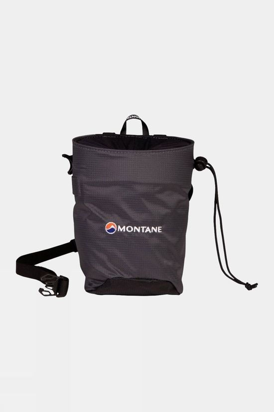 Montane Finger Jam Chalk Bag Charcoal