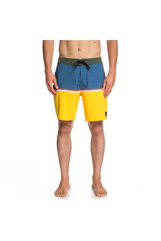 Quiksilver Mens Highline Division 18' Broad Shorts Stellar