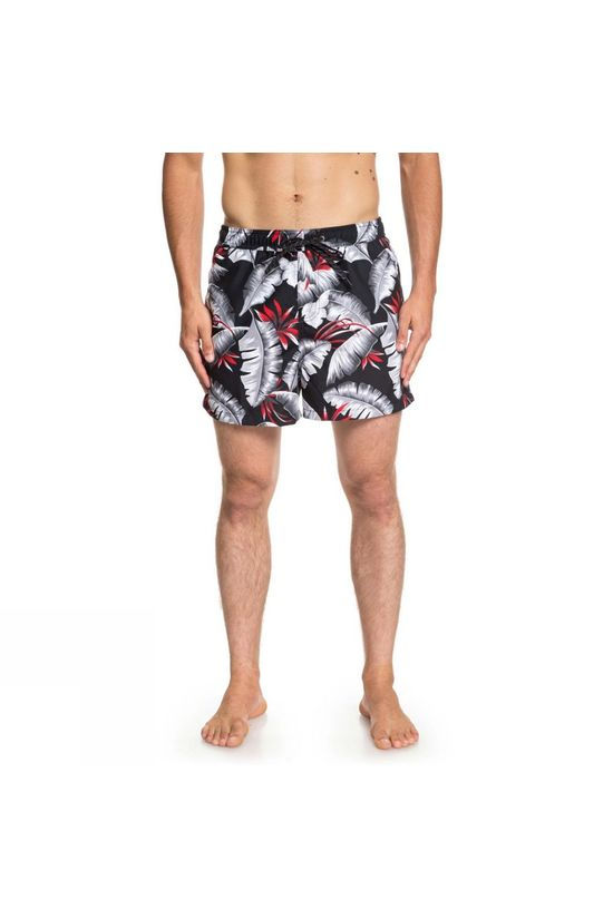 Quiksilver Mens Poolsider 15' Swim Shorts Black