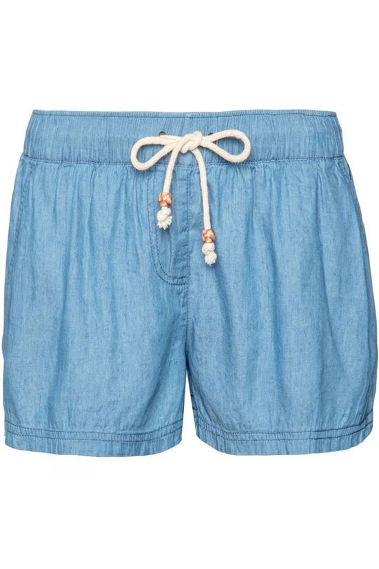 Protest Parrot Shorts Sky Denim