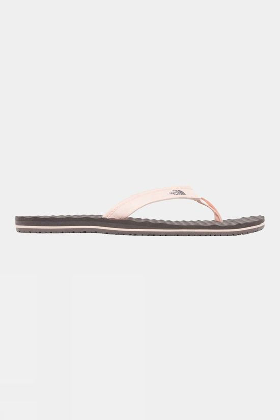 The North Face Womens Base Camp Mini Flip Flop Rabbit Grey/Pink Salt