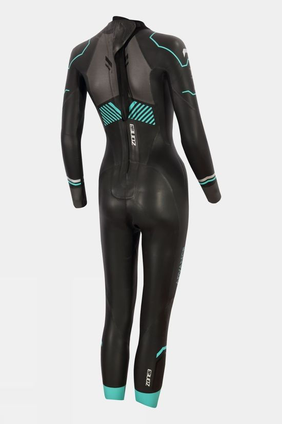 Zone3 Womens Advance Wetsuit  Black