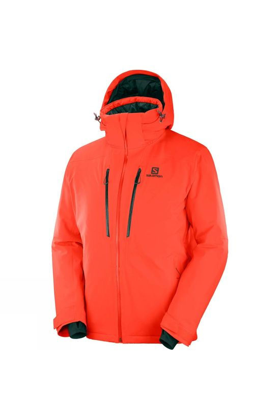 Salomon Mens Icefrost Jacket Cherry Tomato