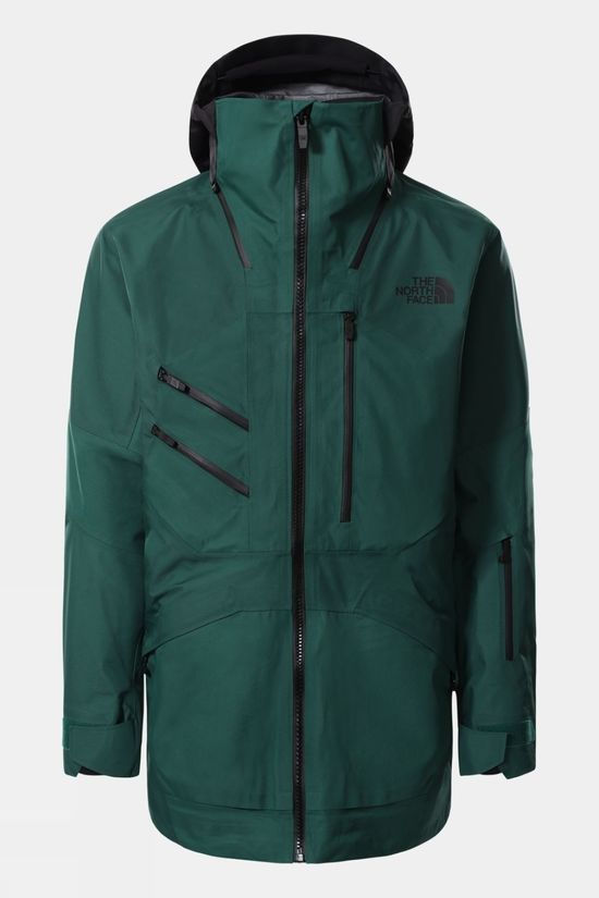 The North Face Mens Brigandine Futurelight Jacket Evergreen/TNF Black