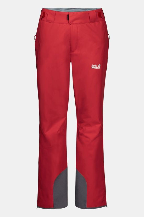 Jack Wolfskin Powder Mountain Pants Red Lacquer