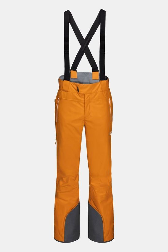 Jack Wolfskin Exolight Mountain Pants Rusty Orange