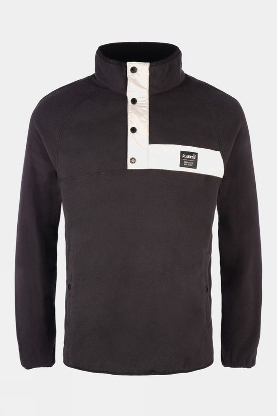 Planks Mens Peace Fleece Black