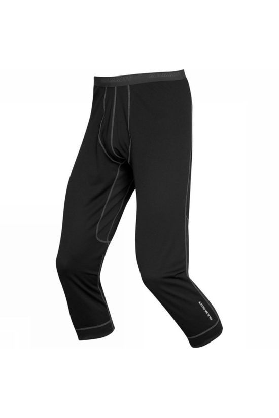 Mammut Mens Go Warm Pants 3/4 Black