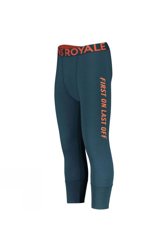 Mons Royale Mens Shaun-Off 3/4 Legging Atlantic