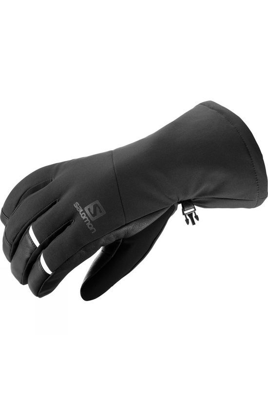 Salomon Mens Propeller Long Gloves Black/Black