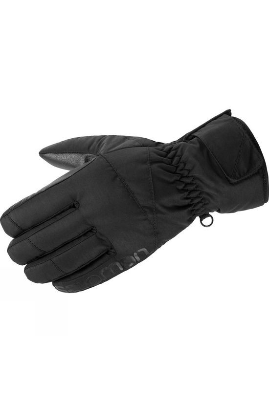 Salomon Mens Force Glove Black/Black