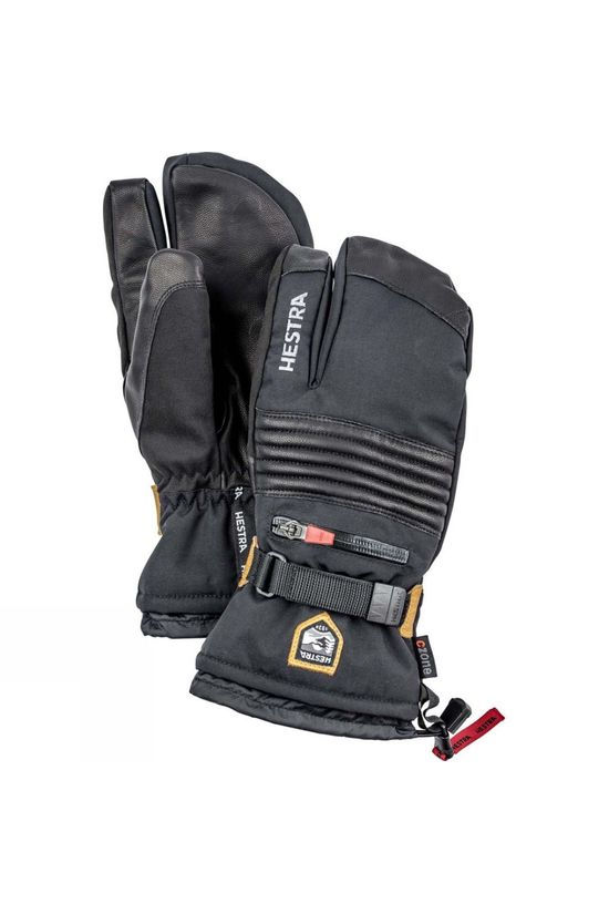 Hestra Mens All Mountain C Zone 3 Finger Glove  Black