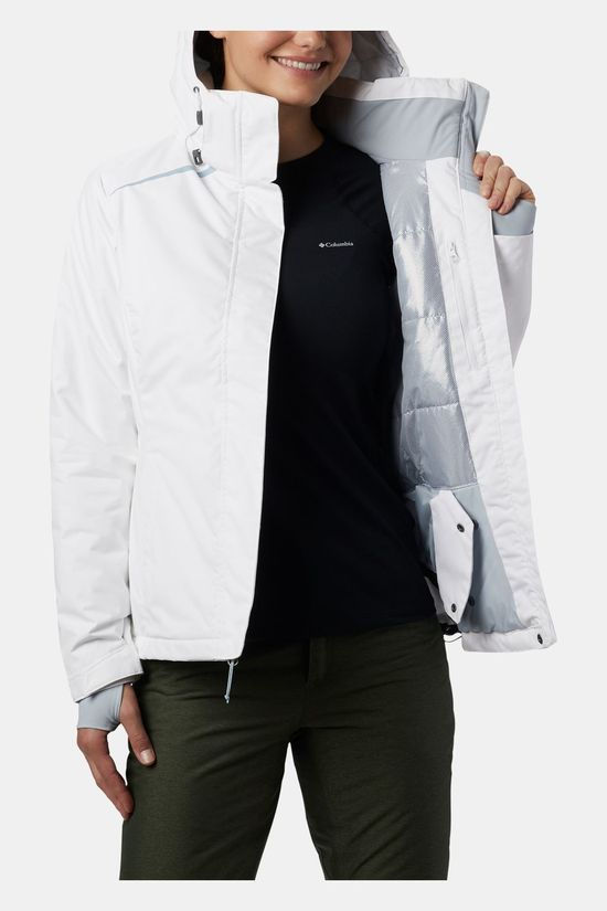 Columbia Womens On The Slope Jacket White
