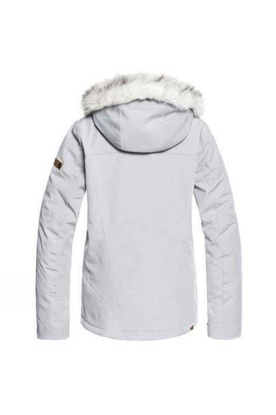 Roxy Womens Atmosphere Jacket Warm Grey Heather