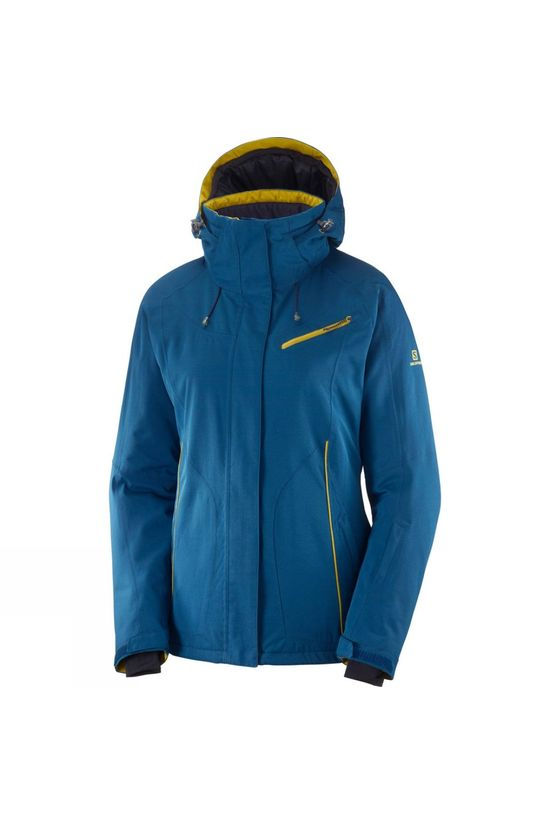 Salomon Womens Fantasy Jacket Poseidon
