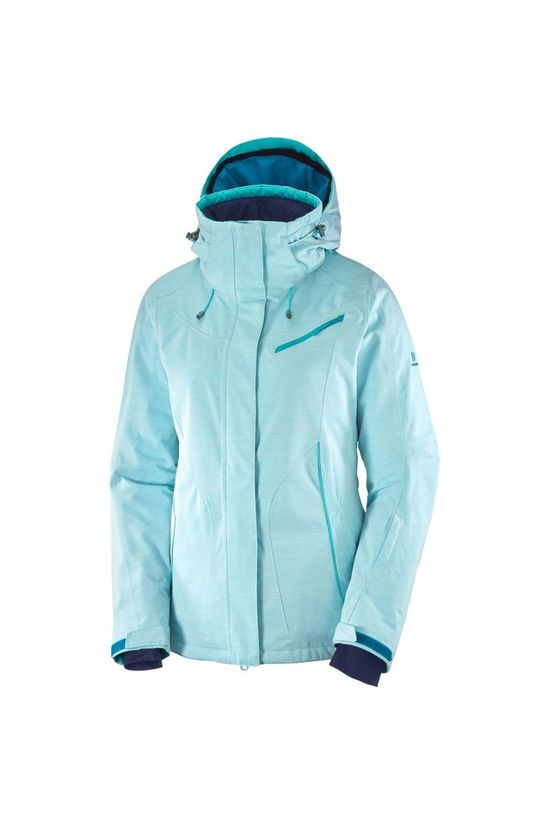Salomon Womens Fantasy Jacket Tile Blue