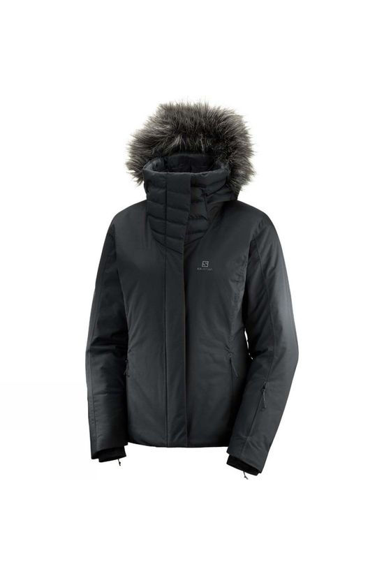 Salomon Womens Icehearty Jacket Black