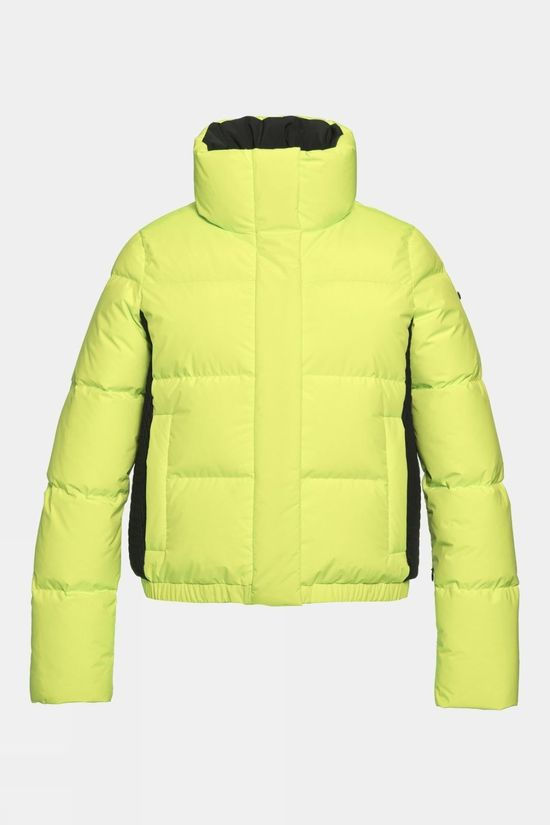Goldbergh Womens Shorty Jacket Neon Yellow
